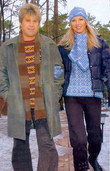 алексей глызин фото с женой